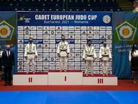 Дзюдо: Данил Мустафин - серебряный призер Кубка Европы среди кадетов
